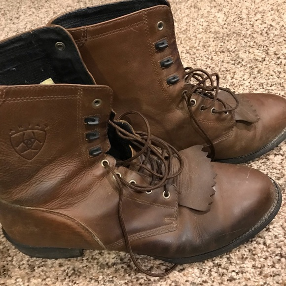 16f61c378ff Men's Ariat Heritage Lacer Western Boots, Size: 12